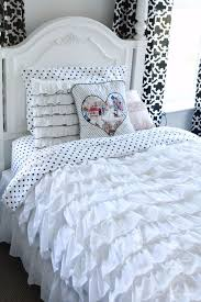diy duvet covers shabby chic ruffled duvet cover easy sewing projects and no sew