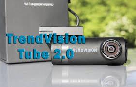 Обзор <b>видеорегистратора TrendVision Tube 2.0</b> | VideoregObzor