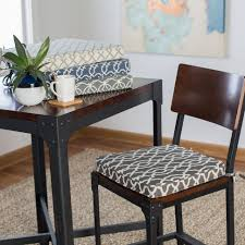 Dining Room Chair Back Cushions With Ties Indoor Chair Cushions