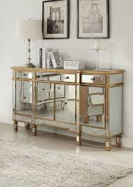 hollywood regency mirrored console cabinet dresser table bedroom furniture glam powell modern added drama mirrored bedroom furniture