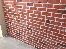 picture of faux brick walls