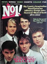 80s Pop Charts No1 Magazine May 28th 1983 Ft Spandau Ballet In 2019 80s