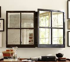mirror cabinet tv covers