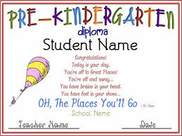 Preschool Graduation Diplomas 9 Printable Preschool Diploma Henfa