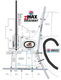 Zmax Dragway Facility Map Motor Speedway Map Driving