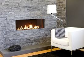 built in wall fireplace home design ideas