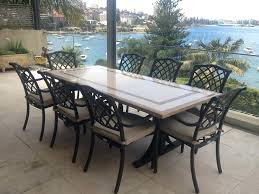 Long Outdoor Dining Table Outdoor Dining Chairs Wood Outdoor Dining