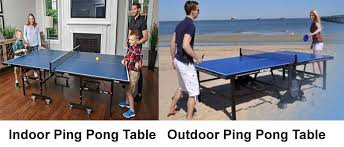 12 Best Ping Pong Table Reviews 2019 Indoor Outdoor