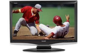 sharp tv canada. sharp lc-37d43u front tv canada v