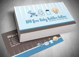 Baby Business Cards Under Fontanacountryinn Com