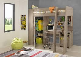 Timber Kids Loft Bunk Beds With Desk Closet Gautier Gami Along With  Beautiful Childrens Bunk Beds