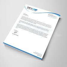 Making A Letter Head Upmarket Serious Electric Company Letterhead Design For A