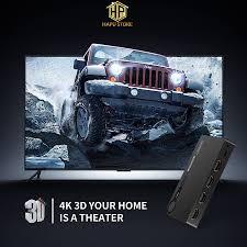 Bộ gộp HDMI 3 vào 1 ra Ugreen 40234 chính hãng - Hapustore - Dây cáp tín  hiệu khác
