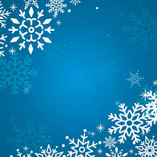 Blue Christmas Winter Holiday Background Snowflake Vector