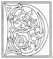 Medieval Illuminated Letters Coloring Pages Launching Me Val