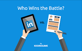 linkedin vs resume who wins the battle main differences between linkedin vs resume who wins the battle