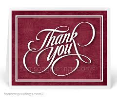 Business Thank You Note Cards Thank You Note Cards For Business 2006 Harrison Greetings