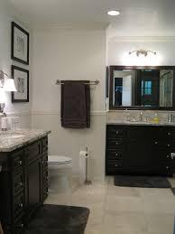 grey beige bathroom
