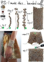 diy beaded cuff bracelet diy beaded bracelets you bead crafts should be making