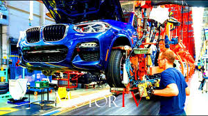 BMW Convertible bmw x3 manufacturing plant : CAR FACTORY : ALL NEW 2018 BMW X3 & 2017 X4 PRODUCTION l ASSEMBLY ...