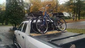 Bike Rack Attachment for Pickup Truck Above the Cover. $20 (after ...