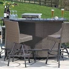 bar sets for patios fabulous bar style patio sets entertaining in your outdoor living space style