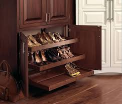 Designs Ideas:Cool Brown Wooden Shoe Rack Pull Out And Wooden Floor 18  Great Shoe