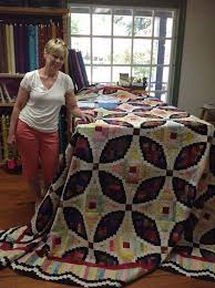 2018 best QUILTS images on Pinterest   Beautiful, Arkansas and ... & Norma J and her beautiful quilt, Jinny Beyer's fabrics and Judy Martin's ... Adamdwight.com