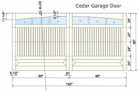 Standard Garage Door Sizes Rough Opening How To Make Garage