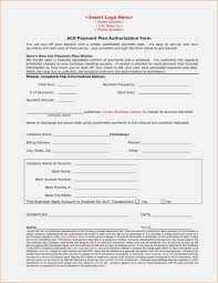 Recurring Payment Authorization Form Download Ach Forms Templates Recurring Payment Authorization Form