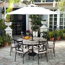 round patio dining set seats 6 living in round mosaic patio dining set seats 6 belham living san marino patio dining set seats 6