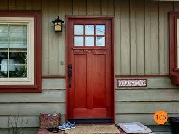 white craftsman front door. Painted Craftsman Door Hardware White Front N