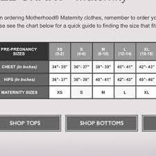 Motherhood Nursing Bra Size Chart Nwt Nursing Bra Nwt
