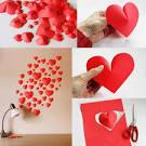 Украшения своими руками на день святого валентина из бумаги 3