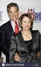 Paul Pelosi und Nancy Pelosi Opening Night after-Party des  Broadway-Musicals