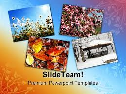 Four Seasons Nature Powerpoint Templates And Powerpoint Background ...