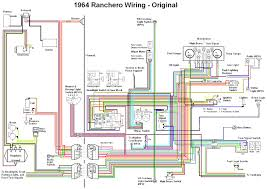 jeep cherokee wiring diagram wirdig 1964 ford falcon ranchero wiring diagram electrical system schematic