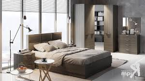 Модульные <b>спальни</b> - <b>Спальный гарнитур</b> «<b>Либерти</b>»