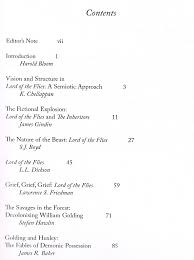 lord of the flies spackenkill union school district table of contents