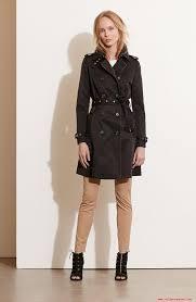 5076637 womens lauren ralph lauren faux leather trim trench coat 2017 new style hot s