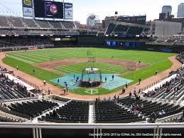 Target Field View From Delta Sky360 Club H Vivid Seats