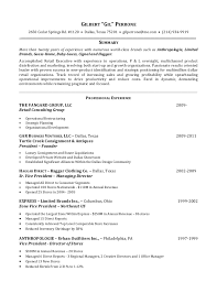 Resume Template For Retail Associate Templates