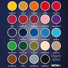 Dylon Dye Colour Chart Mixing Recipes For Dylon Textile Dyes