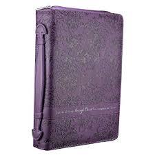 purple fl book cover philippians 4 13 large