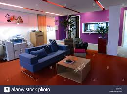 Google office photos 13 google Spaces View Of The Lounge Alamy View Of The Lounge