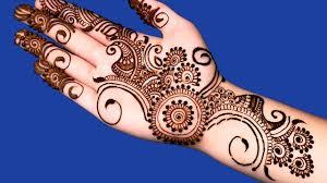 Mehndi Designs 2013 For Children S Hand Front Hand Mehndi Design By Nimra Saloon Latest Mehndi