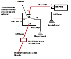 re wiring fuel pump wires have a question 340 stealth honda tech add electric fuel pump to mechanical at Inline Fuel Pump Wiring Diagram