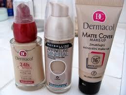 make up dermacol 24h control matte cover maybelline affinitone foto č