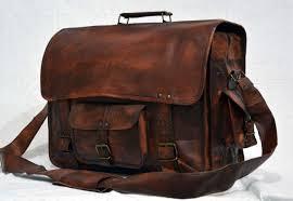 vintage leather bag skh003