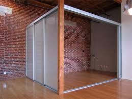glass closet doors sliding doors loft